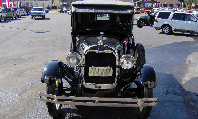 1929 FORD MODEL A PICKUP - Front 3/4 - 39665