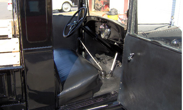 1929 FORD MODEL A PICKUP - Interior - 39665