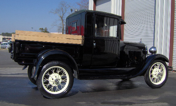1929 FORD MODEL A PICKUP - Side Profile - 39665
