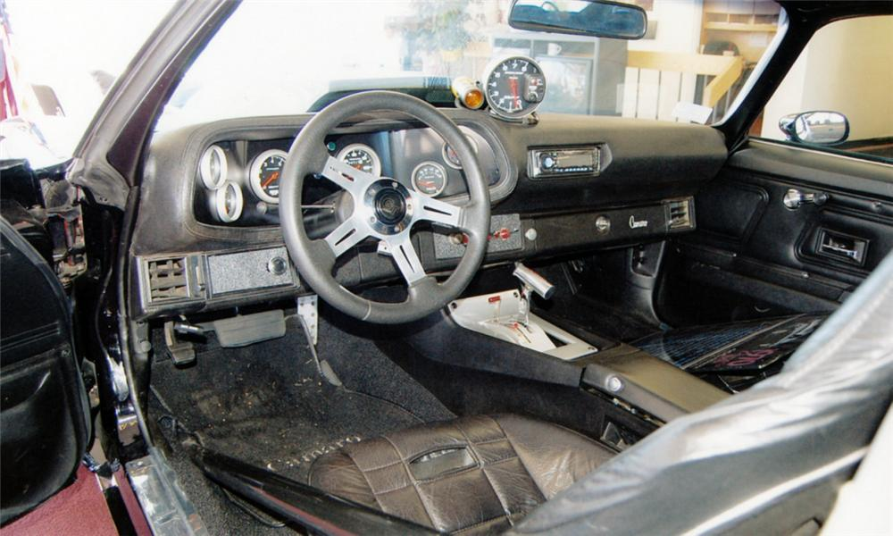 1970 CHEVROLET CAMARO CUSTOM COUPE - Interior - 39666