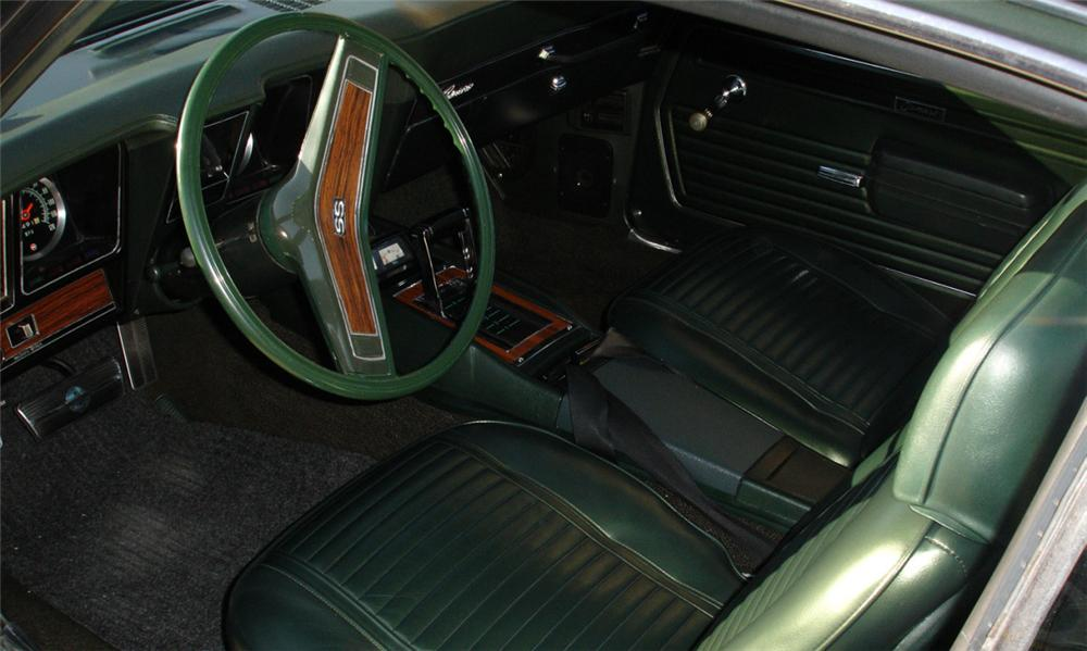 1969 CHEVROLET CAMARO RS/SS COUPE - Interior - 39668