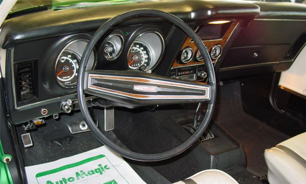 1971 FORD MUSTANG MACH 1 FASTBACK - Interior - 39676