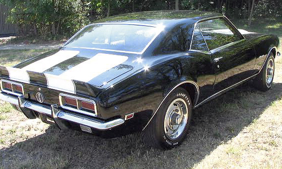 1968 CHEVROLET CAMARO Z/28 RS COUPE - Rear 3/4 - 39678