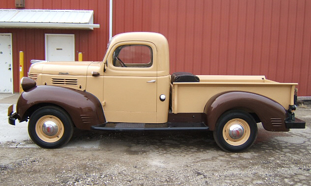 1941 PLYMOUTH W SERIES PICKUP - Side Profile - 39679