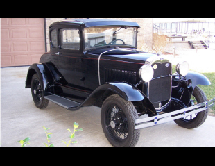 1930 FORD MODEL A COUPE -  - 39681
