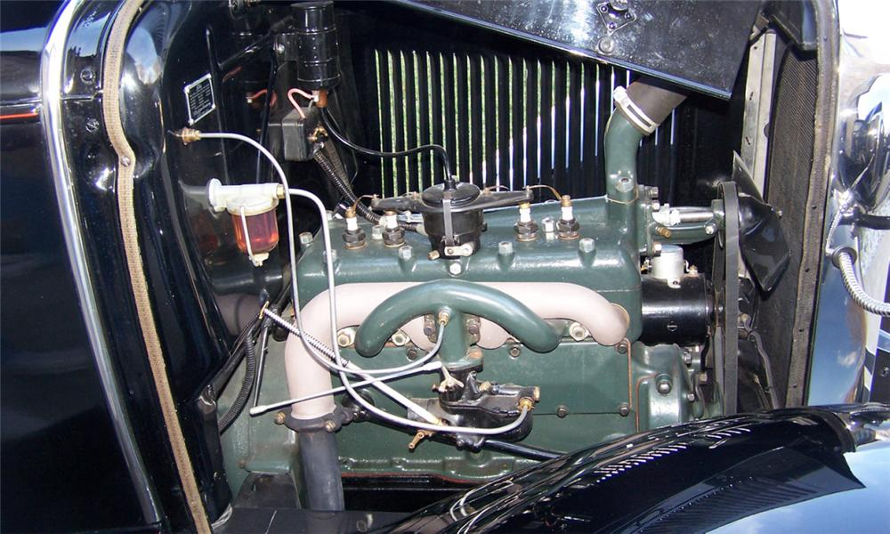 1930 FORD MODEL A COUPE - Engine - 39681
