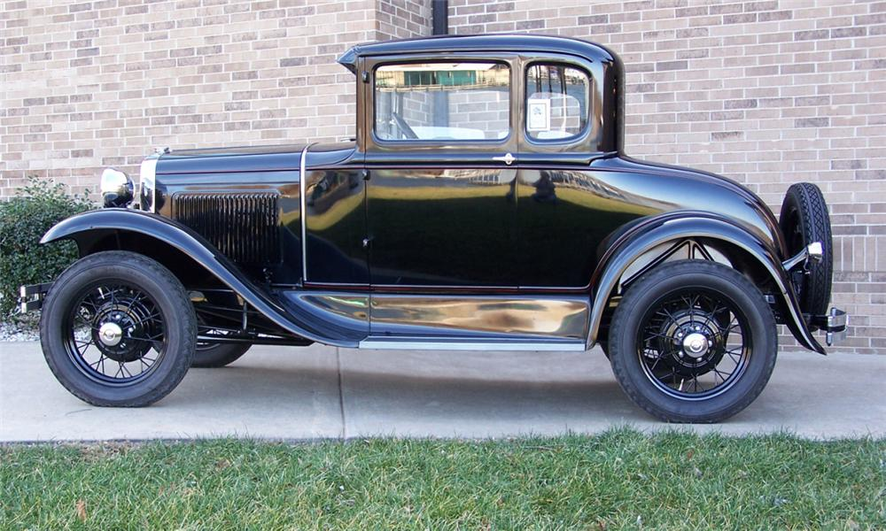 1930 FORD MODEL A COUPE - Side Profile - 39681