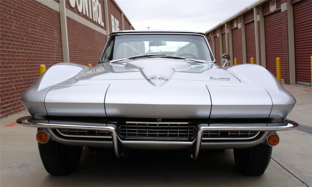 1966 CHEVROLET CORVETTE 427/425 CONVERTIBLE - Side Profile - 39682