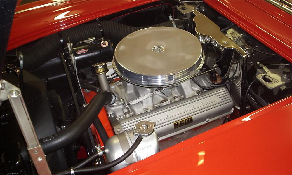 1962 CHEVROLET CORVETTE CONVERTIBLE - Engine - 39684
