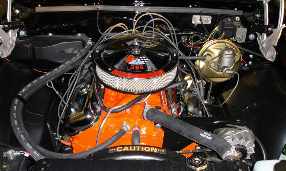 1966 CHEVROLET CHEVELLE SS 396 CONVERTIBLE - Engine - 39685