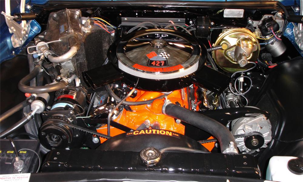 1966 CHEVROLET IMPALA SS CONVERTIBLE - Engine - 39686