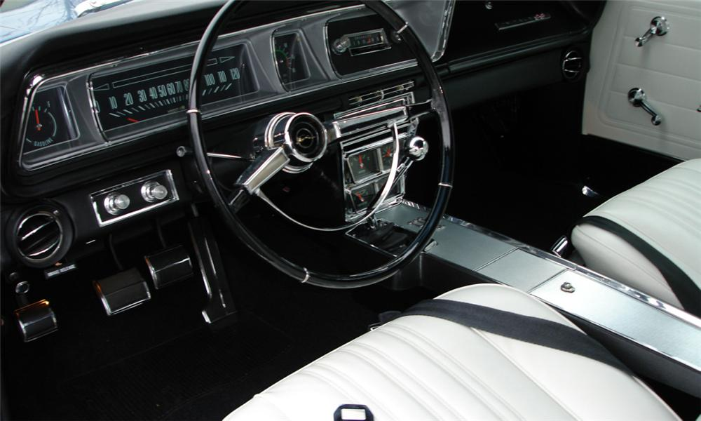 1966 CHEVROLET IMPALA SS CONVERTIBLE - Interior - 39686