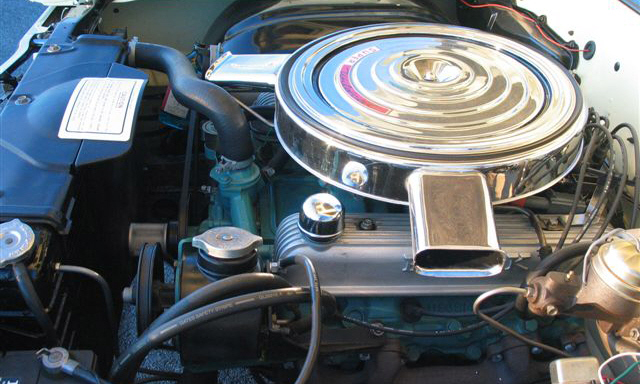 1965 BUICK GRAN SPORT CONVERTIBLE - Engine - 39695