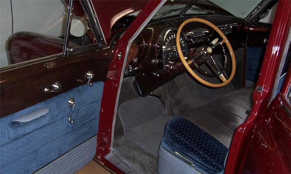 1948 CADILLAC SERIES 62 SEDAN - Interior - 39698