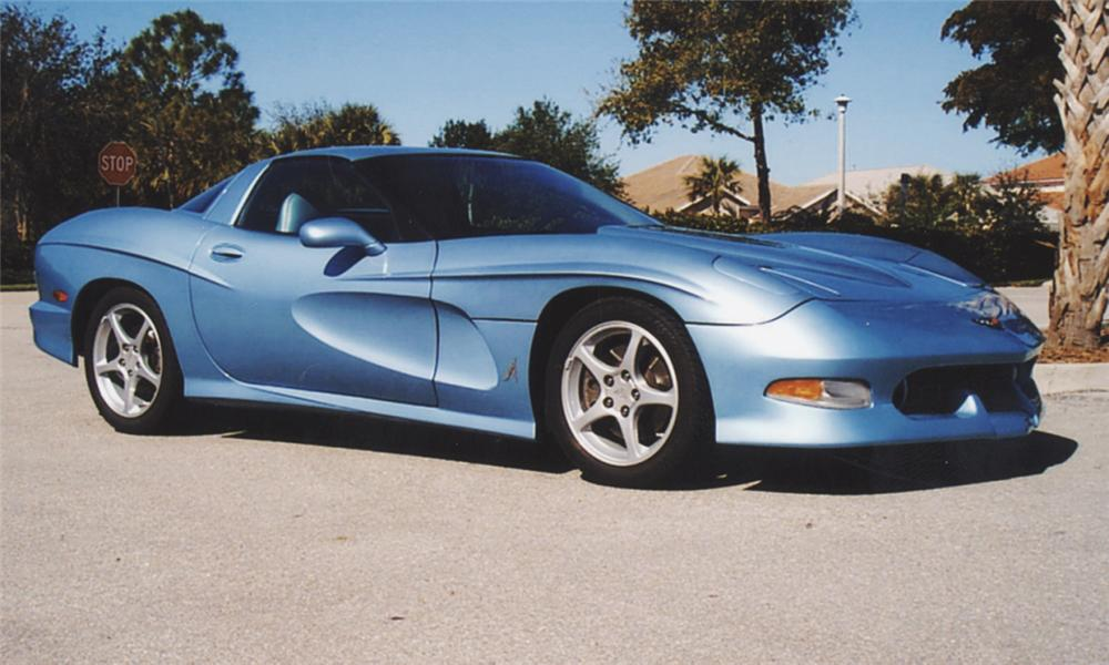 2002 CHEVROLET CORVETTE AVALATE CUSTOM SPLIT WINDOW COUP - Front 3/4 - 39699