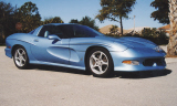 2002 CHEVROLET CORVETTE AVALATE CUSTOM SPLIT WINDOW COUP -  - 39699