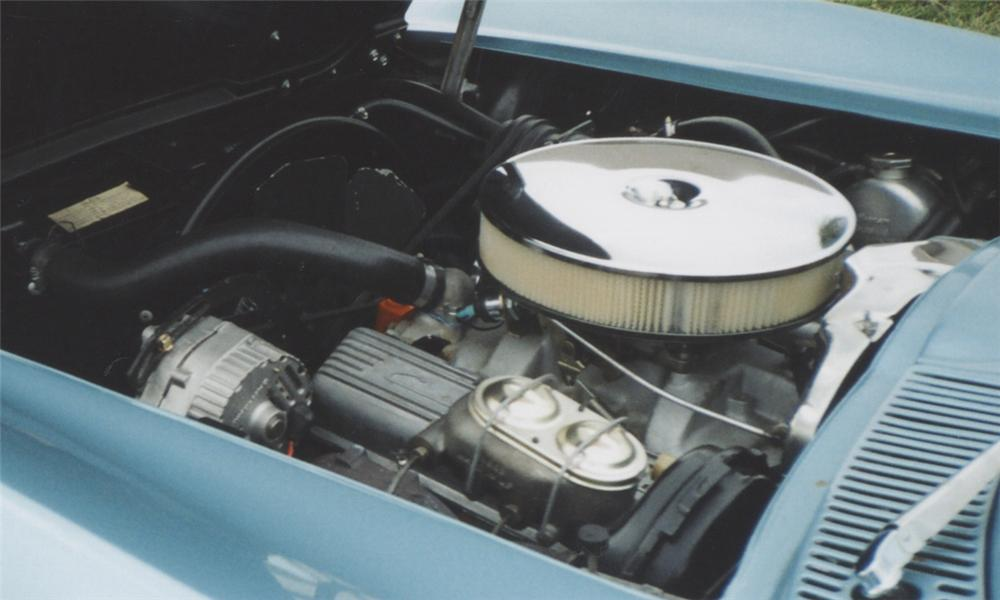 1963 CHEVROLET CORVETTE 327/350 CONVERTIBLE - Engine - 39701
