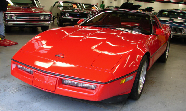 1990 CHEVROLET CORVETTE ZR1 - Front 3/4 - 39702