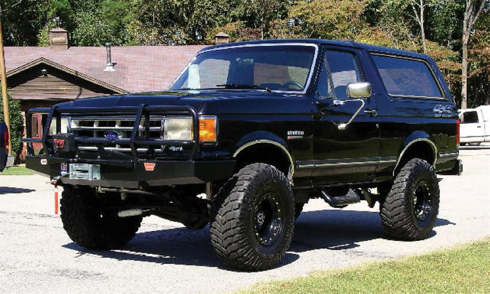 1987 FORD BRONCO   - Front 3/4 - 39705
