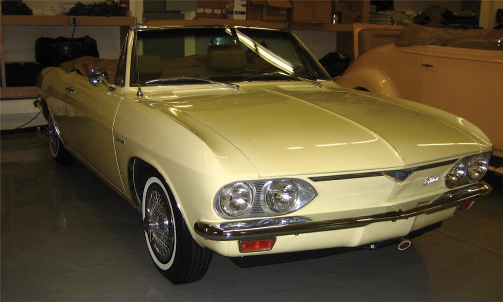 1966 CHEVROLET CORVAIR CONVERTIBLE - Front 3/4 - 39707