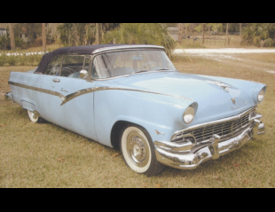 1956 FORD SUNLINER CONVERTIBLE -  - 39710