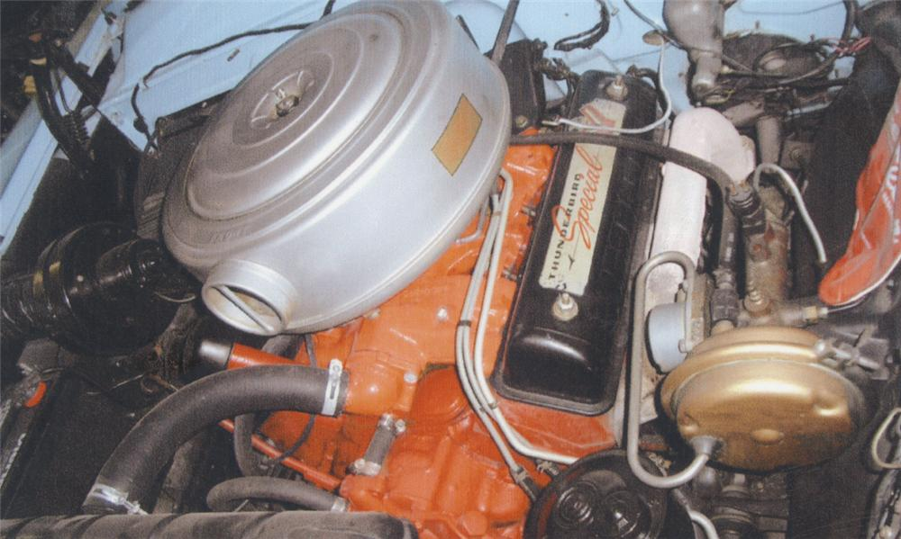 1956 FORD SUNLINER CONVERTIBLE - Engine - 39710