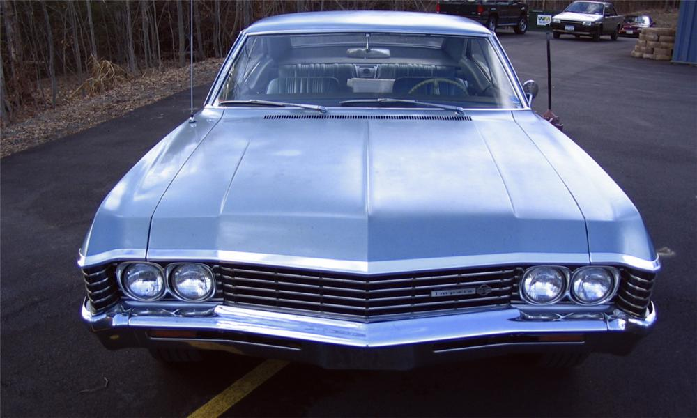 1967 CHEVROLET IMPALA 2 DOOR HARDTOP - Side Profile - 39711