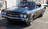 1970 CHEVROLET CHEVELLE LS6 CONVERTIBLE RE-CREATION -  - 39724