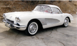1959 CHEVROLET CORVETTE CONVERTIBLE -  - 39726