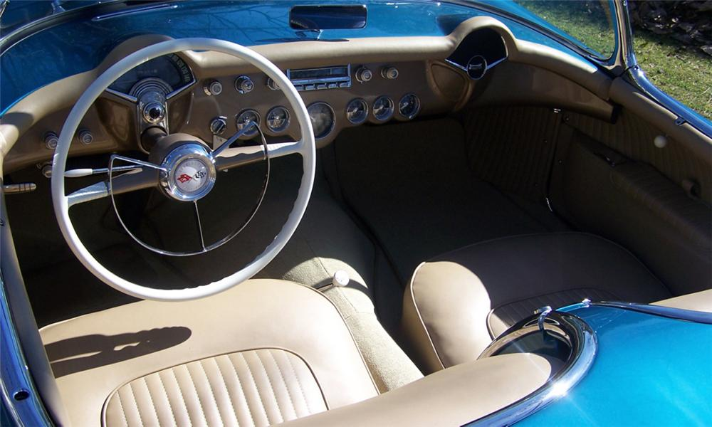 1954 CHEVROLET CORVETTE CONVERTIBLE - Interior - 39728