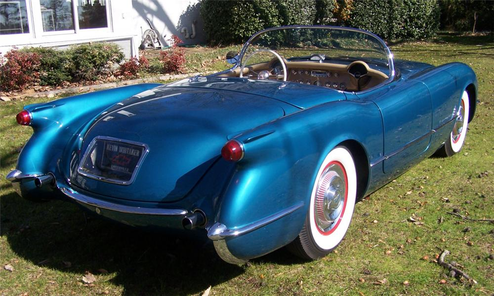 1954 CHEVROLET CORVETTE CONVERTIBLE - Rear 3/4 - 39728