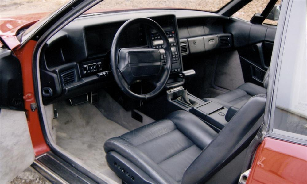 1990 CADILLAC ALLANTE 2 DOOR - Interior - 39736