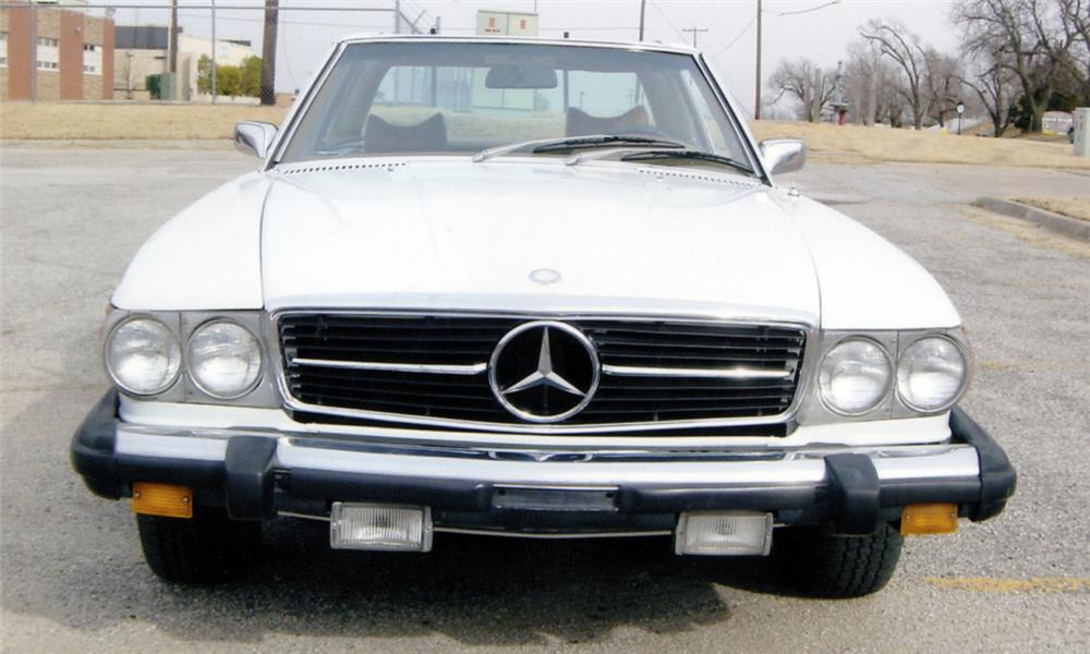 1974 MERCEDES-BENZ 450SL CONVERTIBLE - Front 3/4 - 39737