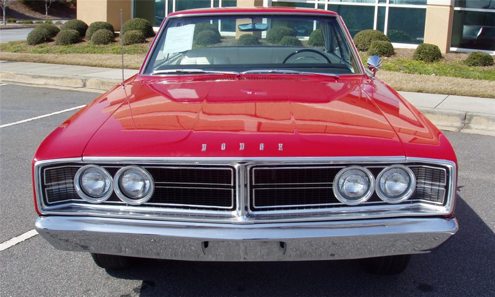 1966 DODGE HEMI CORONET 2 DOOR HARDTOP - Side Profile - 39740
