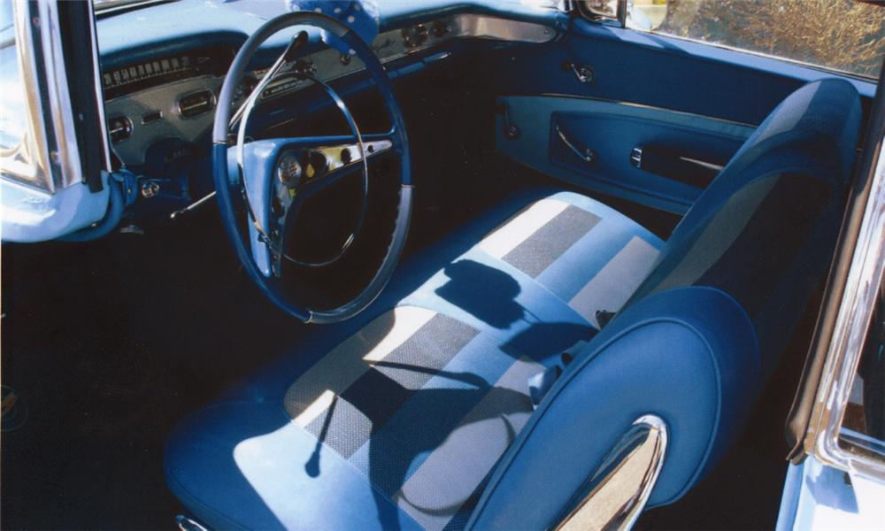 1958 CHEVROLET IMPALA CONVERTIBLE - Interior - 39742