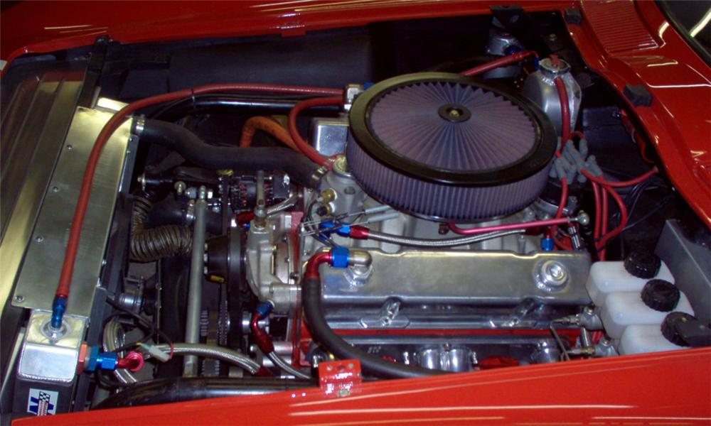 1963 CHEVROLET CORVETTE RE-CREATION ZO6 RACE CAR - Engine - 39749