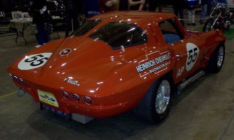 1963 CHEVROLET CORVETTE RE-CREATION ZO6 RACE CAR - Side Profile - 39749