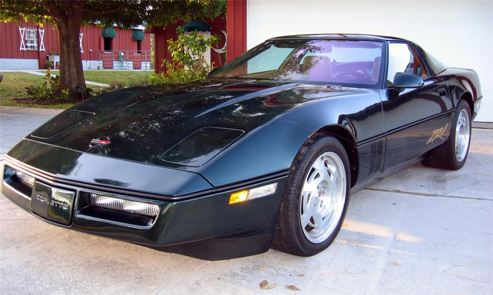 1990 CHEVROLET CORVETTE ZR1 COUPE - Front 3/4 - 39753