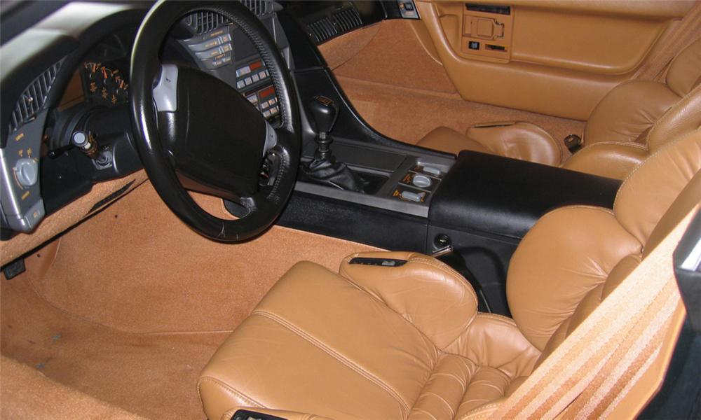 1990 CHEVROLET CORVETTE ZR1 COUPE - Interior - 39753