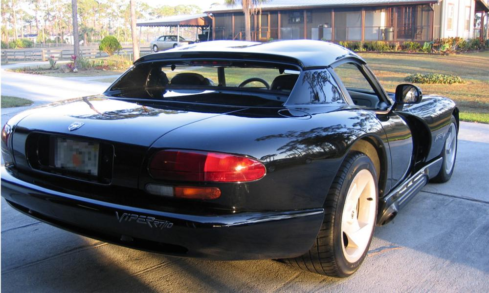 1994 DODGE VIPER RT/10 COUPE - Rear 3/4 - 39754