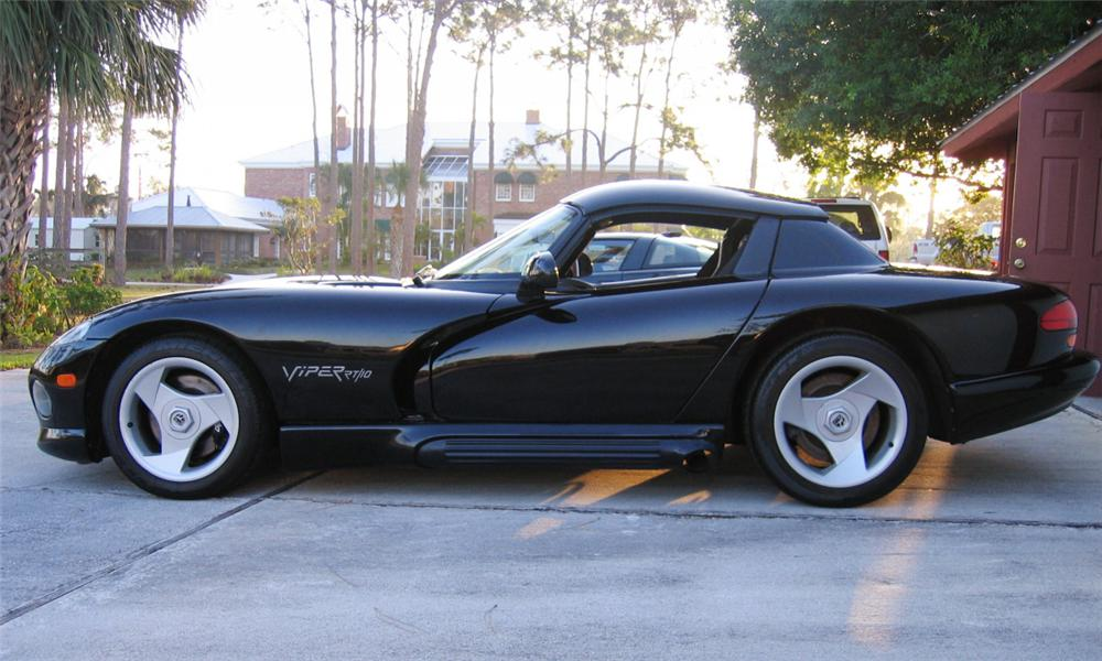 1994 DODGE VIPER RT/10 COUPE - Side Profile - 39754