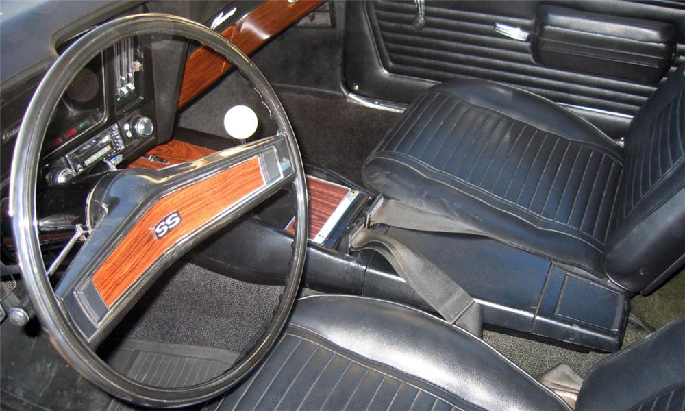 1969 CHEVROLET CAMARO SS COUPE - Interior - 39755