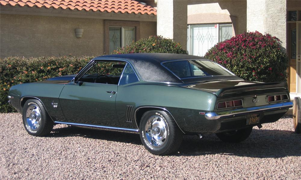 1969 CHEVROLET CAMARO SS COUPE - Rear 3/4 - 39755