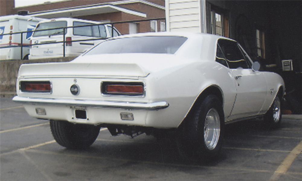 1967 CHEVROLET CAMARO RS COUPE - Rear 3/4 - 39761