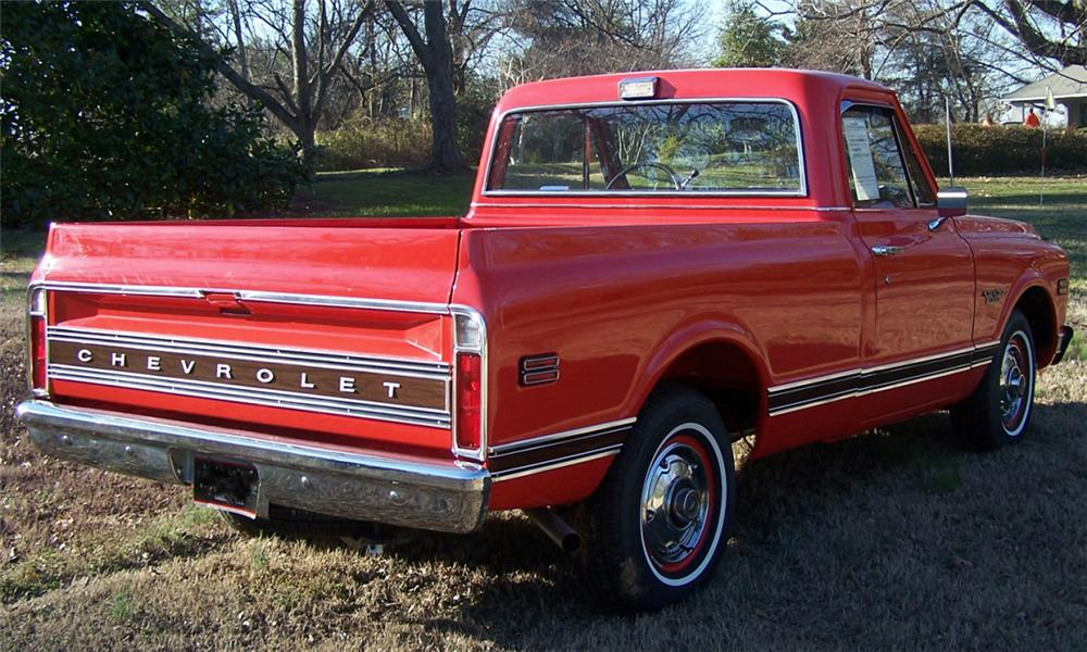 1970 CHEVROLET C-10 PICKUP - Rear 3/4 - 39762