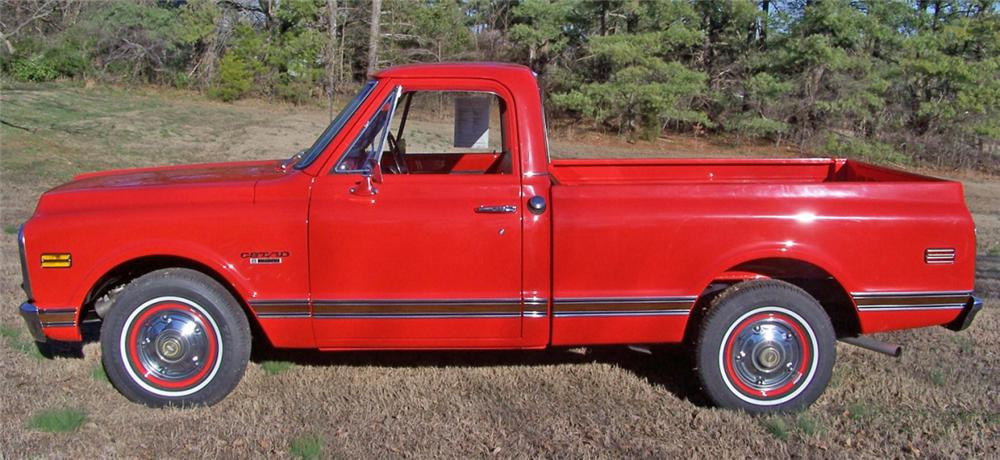 1970 CHEVROLET C-10 PICKUP - Side Profile - 39762