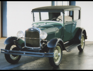 1929 FORD MODEL A COUPE -  - 39765