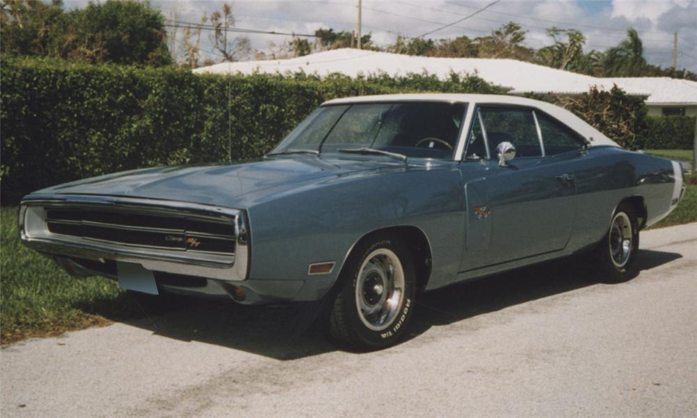 1970 DODGE CHARGER R/T COUPE - Front 3/4 - 39770
