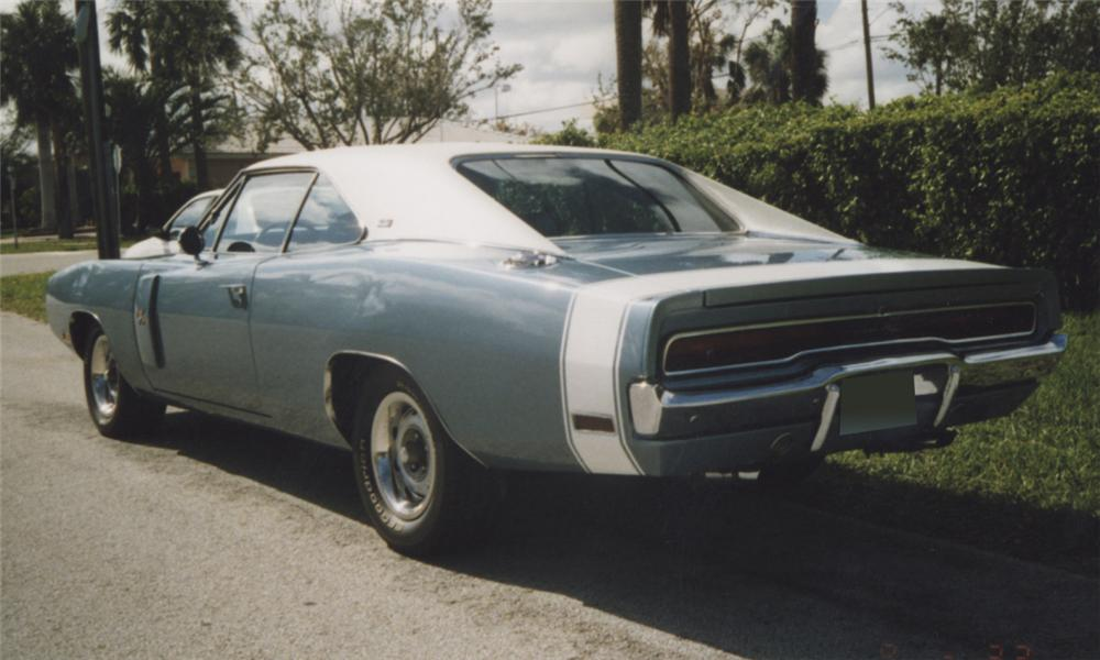 1970 DODGE CHARGER R/T COUPE - Rear 3/4 - 39770
