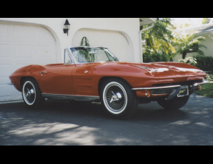 1963 CHEVROLET CORVETTE 327/300 CONVERTIBLE -  - 39771
